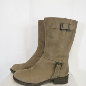 Cole Haan Women's 9B Boots Mid-Calf Leather